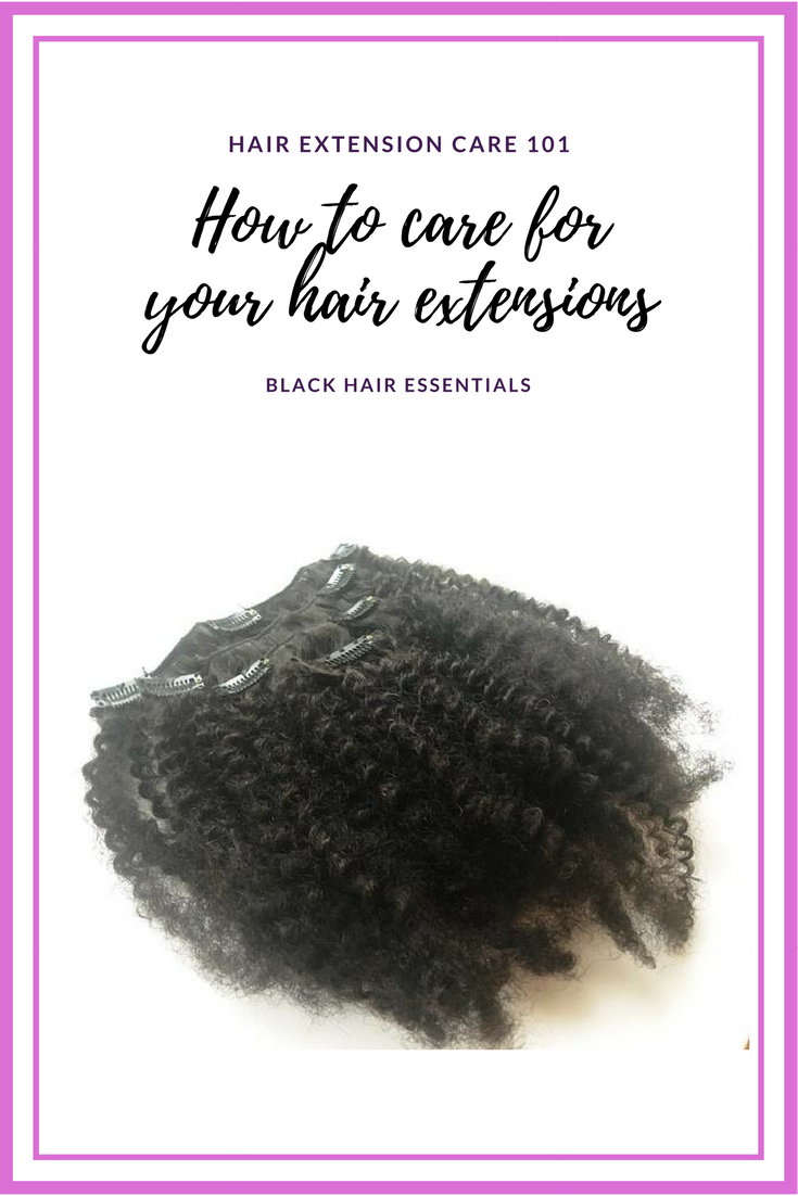 Hair Extension Care 101 How To Care For Your Hair Extensions