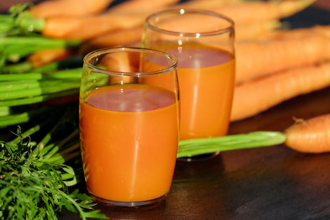 carrot juice for hair growth