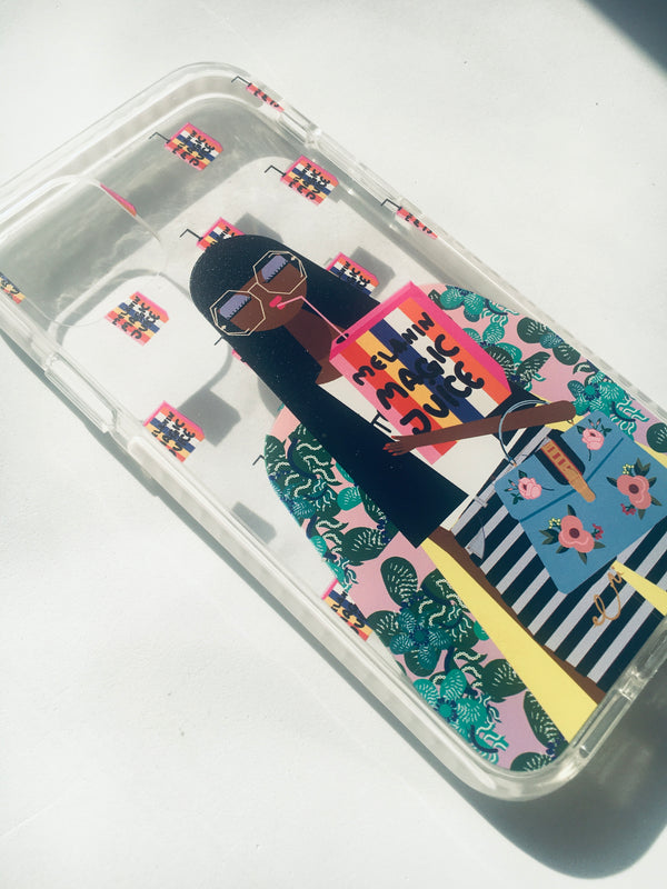 Melanin Magic Juice iPhone Case