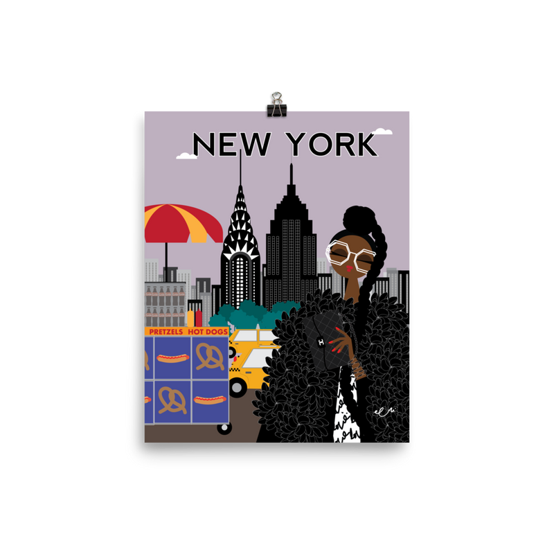 New York ! New York ! Art Print