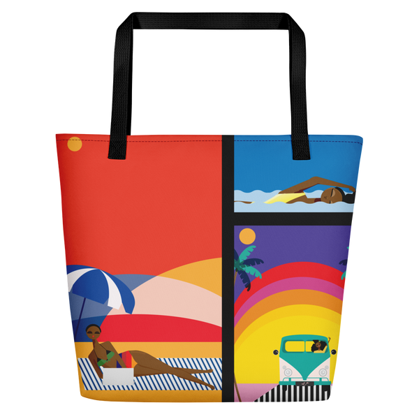 Summer Vibes Beach Bag