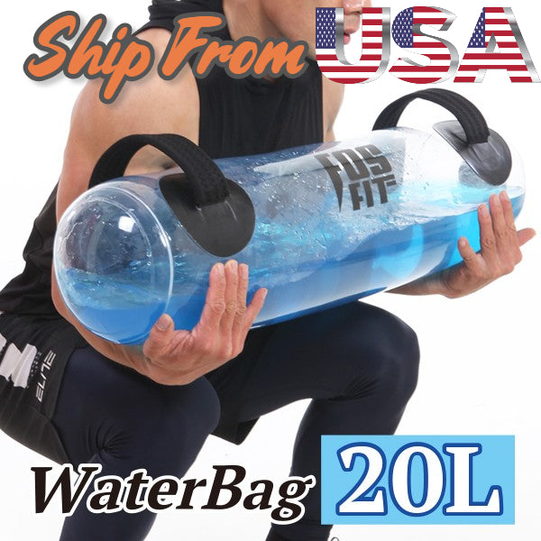 Portable Crossfit & Adjustable Weight Training Waterbag (Aqua Fitness Bag)