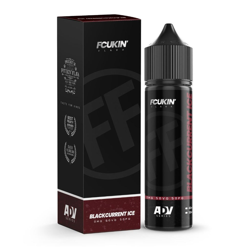 Fcukin' Flava 60 ml - Blackcurrent Ice