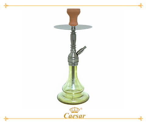 Final Star - Stainless Steel Color - Amber 3 -   - Caesar Shisha