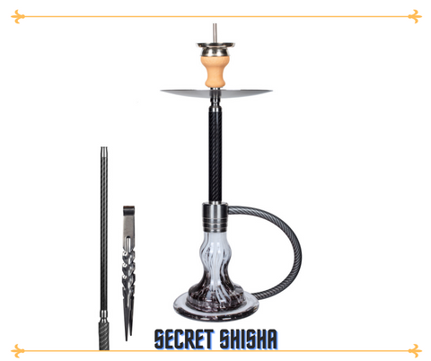 Secret Shisha Carbon - Cave Black