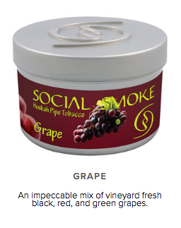 Grape Chill -  vandpibe tobak - Caesar Shisha