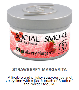 Strawberry Margarita -  vandpibe tobak - Caesar Shisha