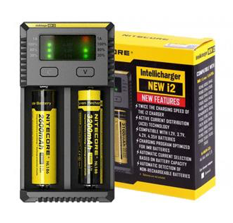 Nitecore Intellicharger NEW i2 -   - Caesar Shisha