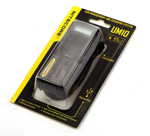 Nitecore Intellicharger UM10 LCD Li-ion Battery Charger -   - Caesar Shisha
