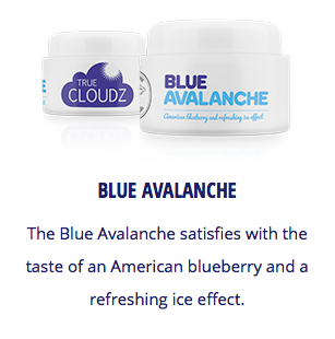 True Cloudz - Blue Avalanche -   - Caesar Shisha