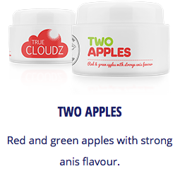 True Cloudz - Two Apple -   - Caesar Shisha