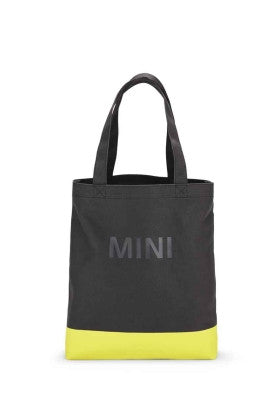 MINI Grey/Lemon Colour Block Shopper