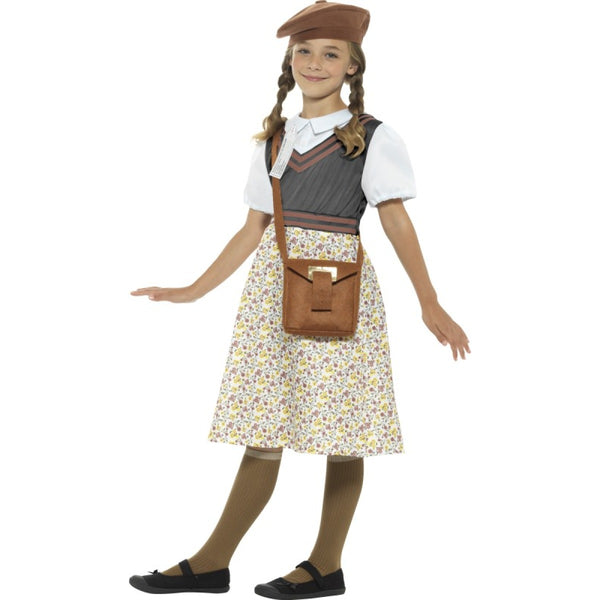 Evacuee School Girl