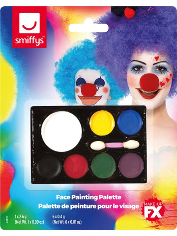 7 Colour Face Paint Palette