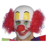 Rubber Clown Head Wig