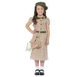 Wartime Evacuee Girl