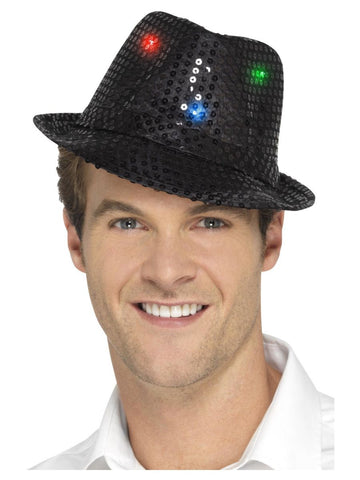Light Up Sequin Trilby