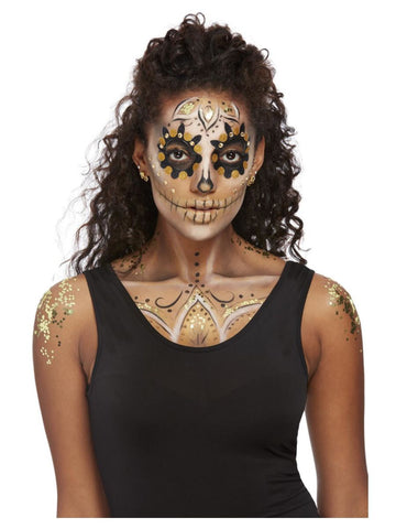 Gold Day of the Dead Kit
