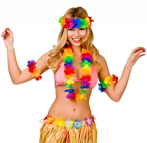 Waikiki Hawaiian Lei Set