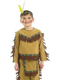 Indian Chief Child