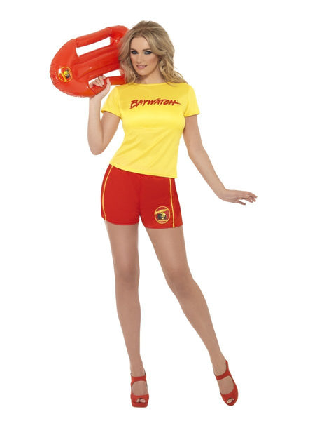 Female Baywatch Lifeguard