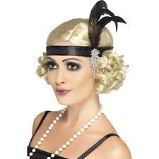 Black and Silver Flapper Headband