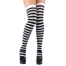 Candystripe Thigh Highs