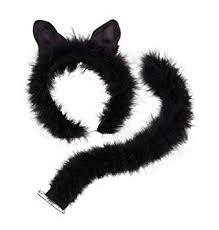 Marabou Cat Eats and Tail