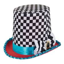 Checkered Top Hat