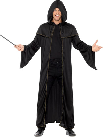 Black Wizard Cloak - Adult