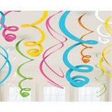 Swirl Party Decorations
