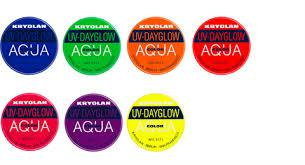 UV-Dayglow Aquacolor - 8ml