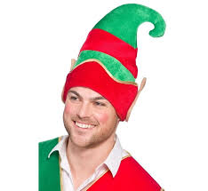 Deluxe Elf Hat with Ears