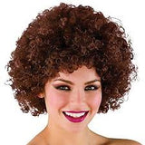 Funky Afro Wig - Brown