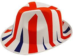 Union Jack Trilby Hat