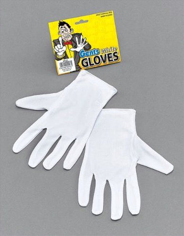 Gentleman's White Gloves