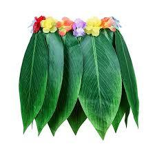 Leaf Hula Skirt