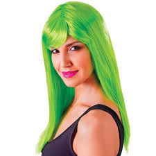 Passion Long Green Wig