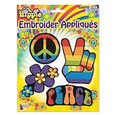 Hippie Embroidered Appliques