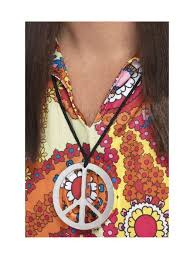 Peace Sign Medallion
