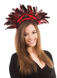 Red Carnival Headdress