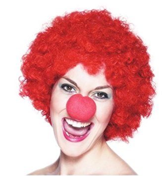 Red Nose Day Wig - Clearance Item