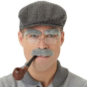 Old Man Facial Hair Set