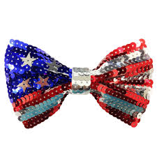 Sequin USA Bow Tie