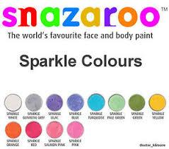 Snazaroo Sparkle Face Paint
