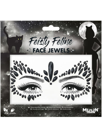 Feisty Feline Face Jewels