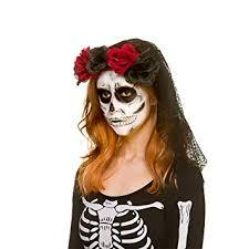 Deluxe Day of the Dead Veil