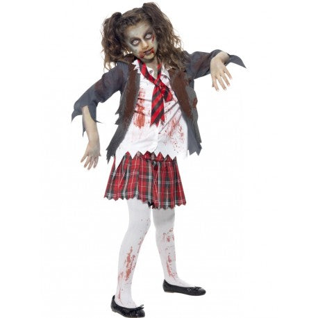 Zombie School Girl - Child