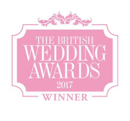 British wedding awards stationery winner