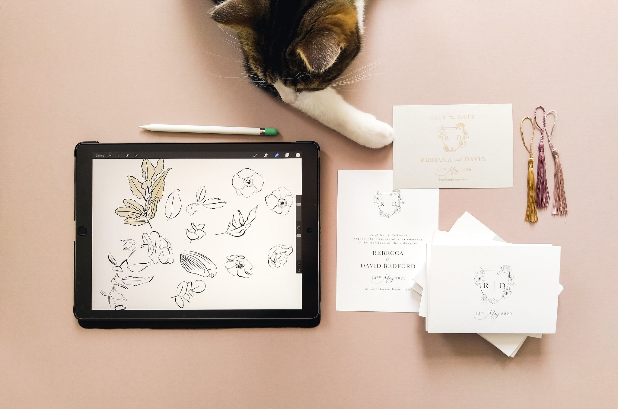 how to design a wedding invitation